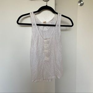 2/$20 ✨ Aritzia Wilfred Free Cropped Tank Top